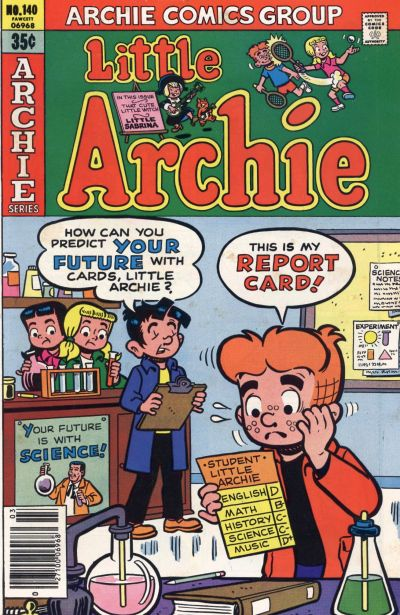 Cover for Little Archie (Archie, 1969 series) #140