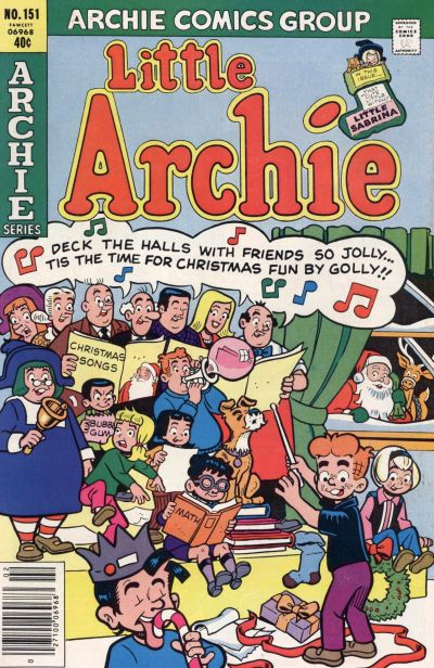 Cover for Little Archie (Archie, 1969 series) #151