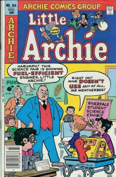 Cover for Little Archie (Archie, 1969 series) #164