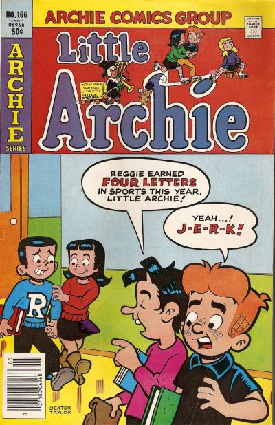 Cover for Little Archie (Archie, 1969 series) #166