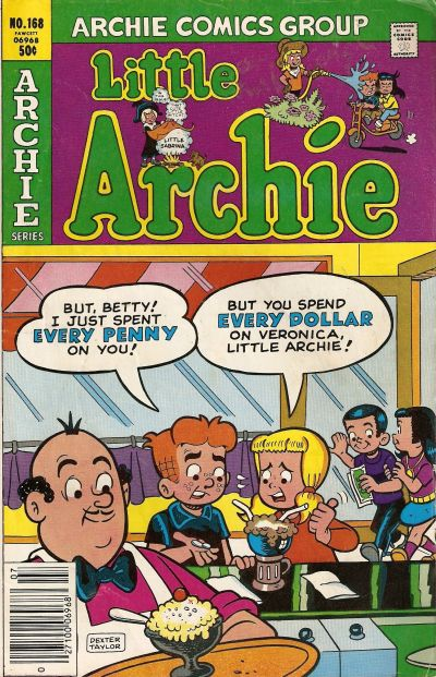 Cover for Little Archie (Archie, 1969 series) #168