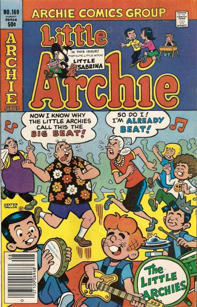Cover for Little Archie (Archie, 1969 series) #169