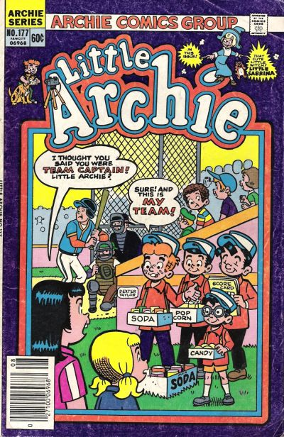 Cover for Little Archie (Archie, 1969 series) #177