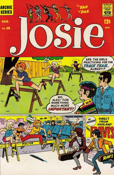 Cover for Josie (Archie, 1965 series) #35