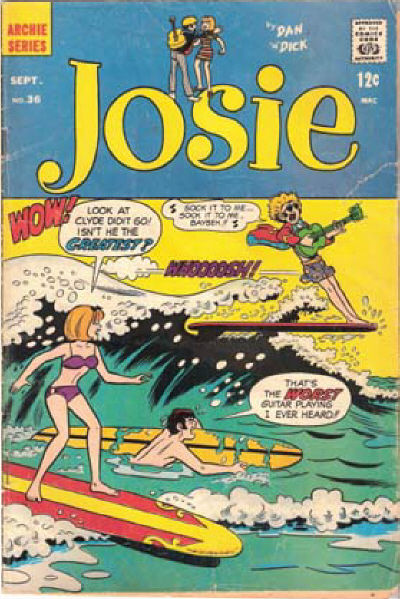 Cover for Josie (Archie, 1965 series) #36