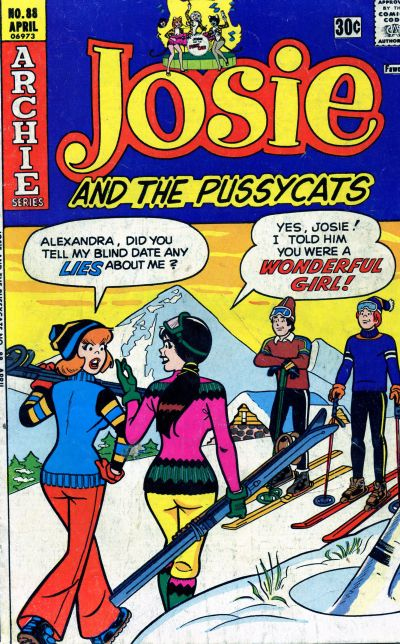 Cover for Josie and the Pussycats (Archie, 1969 series) #88