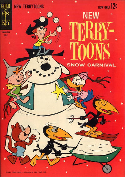 Cover for New Terrytoons (Western, 1962 series) #3