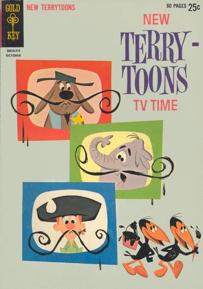 Cover for New Terrytoons (Western, 1962 series) #1