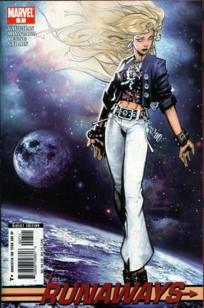Cover for Runaways (Marvel, 2005 series) #7