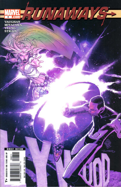 Cover for Runaways (Marvel, 2005 series) #8