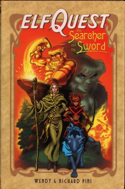 Cover for ElfQuest: The Searcher and the Sword (DC, 2004 series)