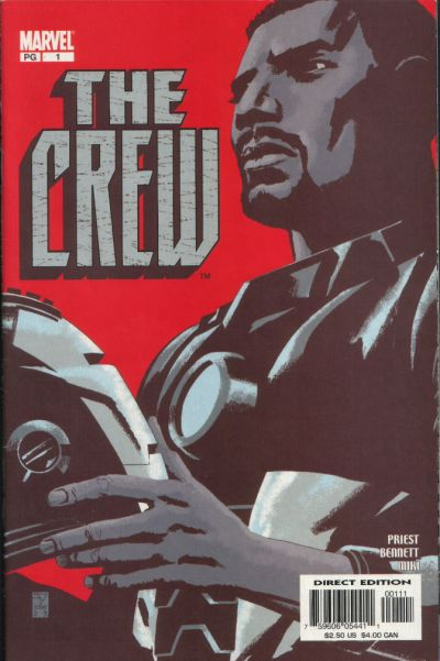Cover for Crew (Marvel, 2003 series) #1