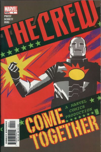 Cover for Crew (Marvel, 2003 series) #4