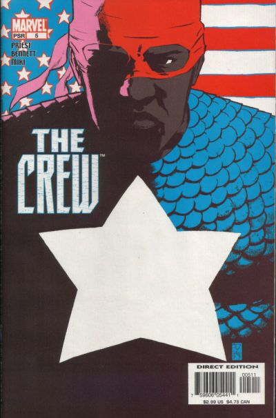 Cover for Crew (Marvel, 2003 series) #5