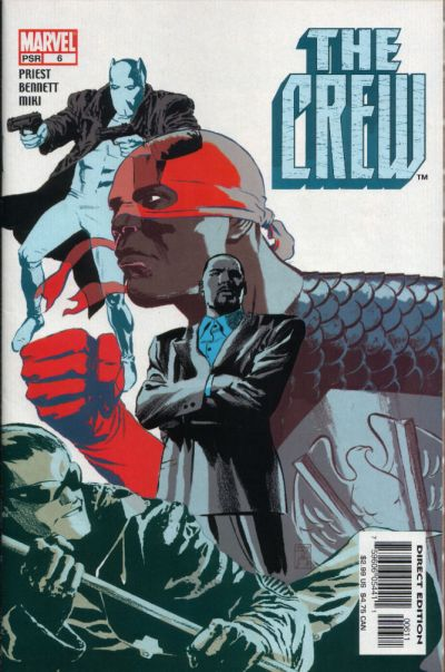 Cover for Crew (Marvel, 2003 series) #6