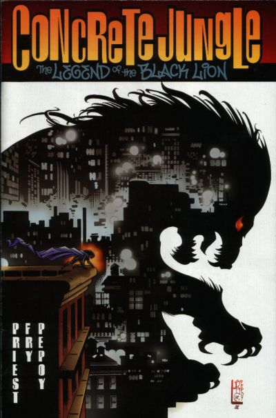 Cover for Concrete Jungle: The Legend of the Black Lion (Acclaim / Valiant, 1998 series) #1