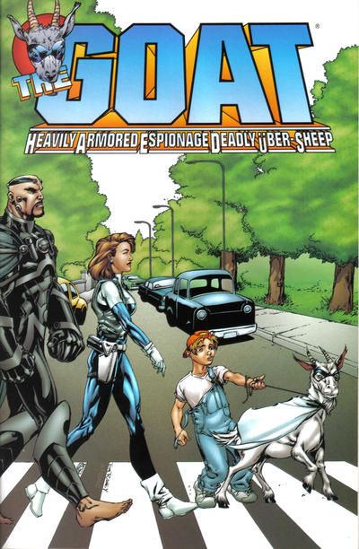 Cover for GOAT: H.A.E.D.U.S. (Acclaim / Valiant, 1998 series) #1