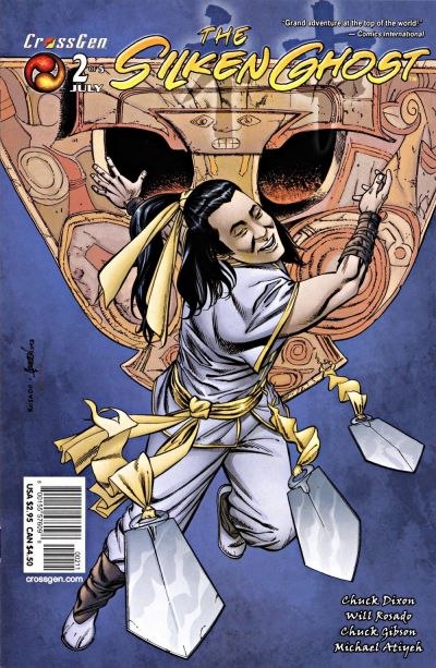 Cover for Silken Ghost (CrossGen, 2003 series) #2
