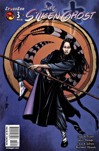 Cover for Silken Ghost (CrossGen, 2003 series) #3