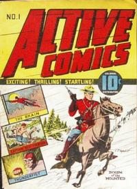 Cover Thumbnail for Active Comics (Bell Features, 1942 series) #1