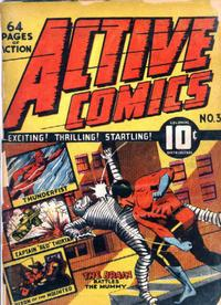 Cover Thumbnail for Active Comics (Bell Features, 1942 series) #3