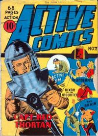 Cover Thumbnail for Active Comics (Bell Features, 1942 series) #7
