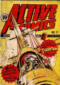 Cover Thumbnail for Active Comics (Bell Features, 1942 series) #11