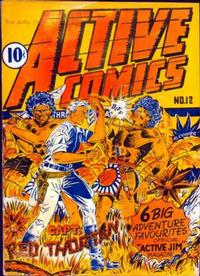 Cover Thumbnail for Active Comics (Bell Features, 1942 series) #12
