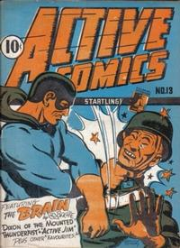 Cover Thumbnail for Active Comics (Bell Features, 1942 series) #13