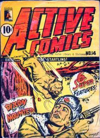 Cover Thumbnail for Active Comics (Bell Features, 1942 series) #14