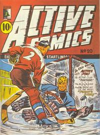 Cover Thumbnail for Active Comics (Bell Features, 1942 series) #20