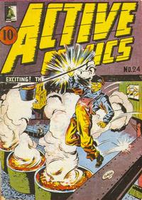 Cover Thumbnail for Active Comics (Bell Features, 1942 series) #24