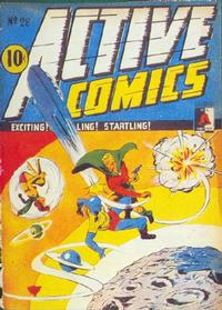 Cover Thumbnail for Active Comics (Bell Features, 1942 series) #28