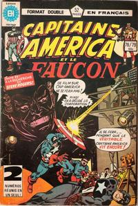 Cover Thumbnail for Capitaine America (Editions Héritage, 1970 series) #78/79
