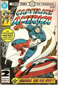 Cover Thumbnail for Capitaine America (Editions Héritage, 1970 series) #84/85