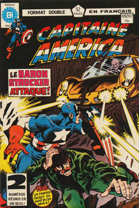 Cover Thumbnail for Capitaine America (Editions Héritage, 1970 series) #106/107