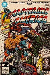 Cover Thumbnail for Capitaine America (Editions Héritage, 1970 series) #108/109