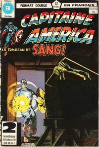 Cover Thumbnail for Capitaine America (Editions Héritage, 1970 series) #112/113