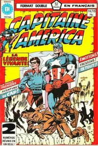 Cover Thumbnail for Capitaine America (Editions Héritage, 1970 series) #114/115