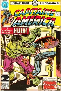 Cover Thumbnail for Capitaine America (Editions Héritage, 1970 series) #116/117