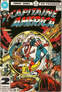 Cover Thumbnail for Capitaine America (Editions Héritage, 1970 series) #128/129