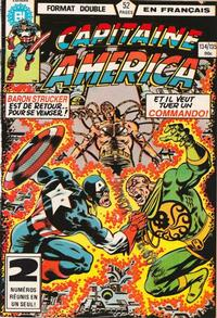Cover Thumbnail for Capitaine America (Editions Héritage, 1970 series) #134/135