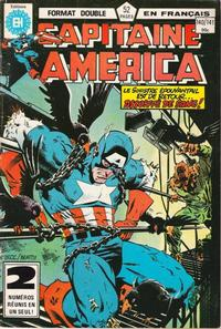 Cover Thumbnail for Capitaine America (Editions Héritage, 1970 series) #140/141