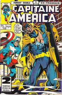 Cover Thumbnail for Capitaine America (Editions Héritage, 1970 series) #154/155