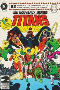 Cover Thumbnail for Les Nouveaux Jeunes Titans (Editions Héritage, 1984 series) #1