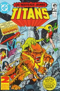 Cover Thumbnail for Les Nouveaux Jeunes Titans (Editions Héritage, 1984 series) #3