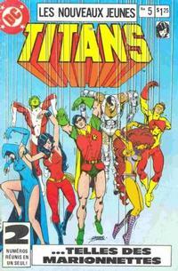 Cover Thumbnail for Les Nouveaux Jeunes Titans (Editions Héritage, 1984 series) #5
