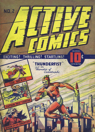 Cover for Active Comics (Bell Features, 1942 series) #2