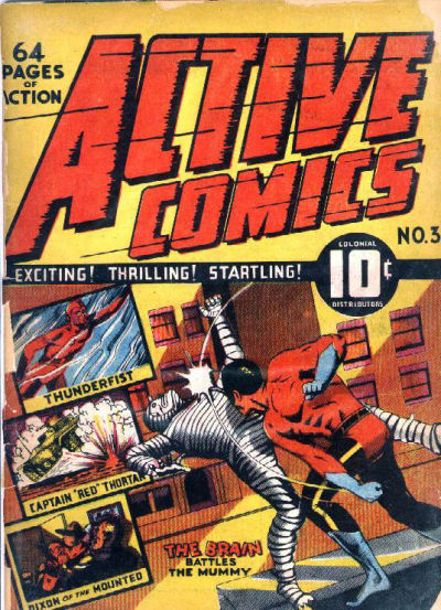 Cover for Active Comics (Bell Features, 1942 series) #3