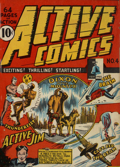 Cover for Active Comics (Bell Features, 1942 series) #4